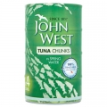 John West Tuna Chunks in Springwater 4pk