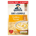 Quaker Oats So Simple Golden Syrup