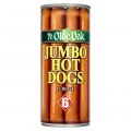 Ye Olde Oak 6 Jumbo Hot Dogs In Brine