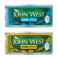 John West Tuna Chunks in Brine/Sunflower Oil