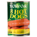 Ye Olde Oak Hot Dogs in Brine